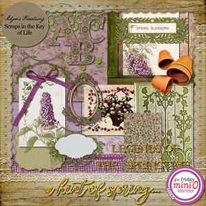 A Hint of Spring - Mini O Kit by Idgie's Heartsong