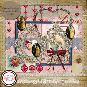 A Love Story - Mini Kit 1 by Idgie's Heartsong