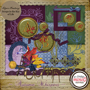 Autumn Whispers Mini Kit by Idgie's Heartsong