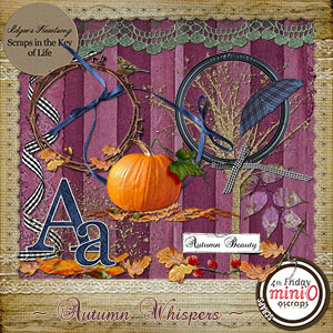 Autumns Whispers - Mini Kit 2 by Idgie's Heartsong