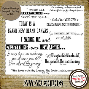 AWAKENING - Word Art by Idgie's Heartsong