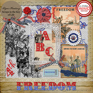 FREEDOM - Mini Kit 1 by Idgie's Heartsong