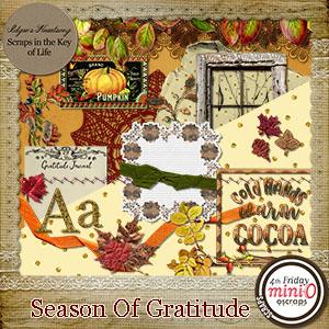 Season Of Gratitude Mini Kit by Idgie's Heartsong