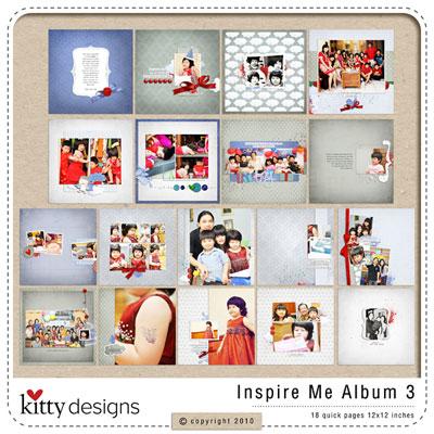 Inspire Me Album 3 (Quick Pages)
