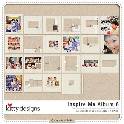 Inspire Me Album 6 (Quick Pages)