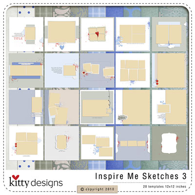 Inspire Me Sketches 3 (Templates)
