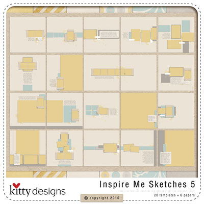 Inspire Me Sketches 5 (Templates)