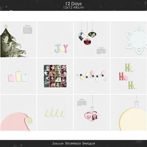 12 Days 12x12 Album
