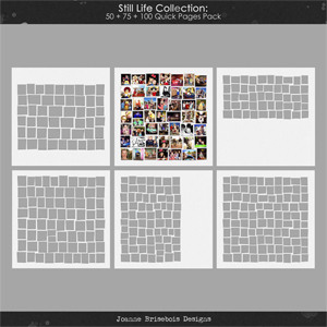 Still Life Collection: 50 + 75 + 100 Quick Pages Pack