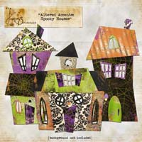 Altered Accents: Spooky Houses Element Pack