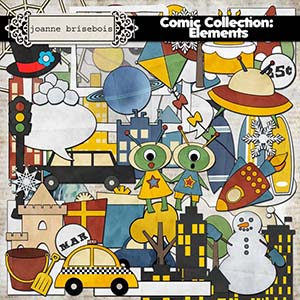 Comic Collection: Element Pack
