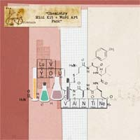Chemistry Mini Kit + Word Art Pack