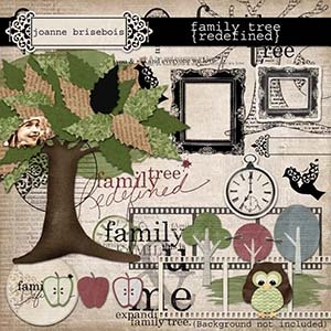 Family Tree {Redefined} Element Pack
