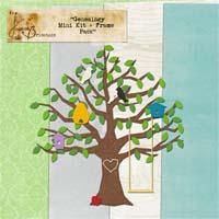Genealogy Mini Kit + Frame Pack