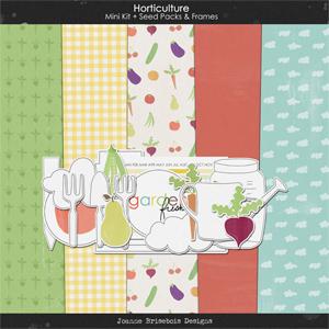 Horticulture Mini Kit + Seed Packs & Frames