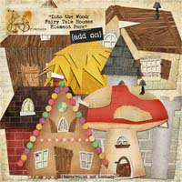Into the Wood: Fairy Tale Houses Element Pack