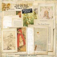 Into the Wood: Fairy Tale Pages Element Pack