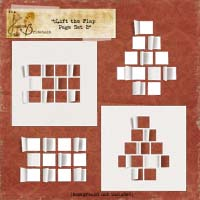 Lift the Flap Page Set 2 Pack