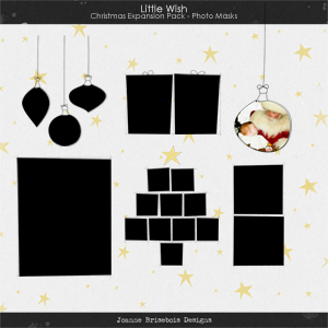 Little Wish Christmas Expansion Pack Photo Masks