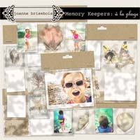 Memory Keepers: à la plage Element Pack