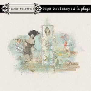 Page Artistry: à la plage Element Pack