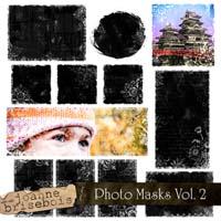Photo Masks Vol. 2 Element Pack