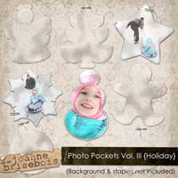 Photo Pockets Vol. III {Holiday} Element Pack