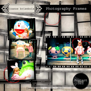 Photography Frames Element Pack
