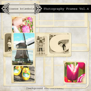Photography Frames Vol. 4 Element Pack