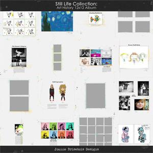 Still Life Collection: Art History 12x12 Album