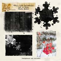 Still Life Collection: Let it Snow Photo Masks Element Pack