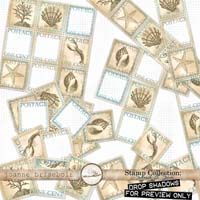 Stamp Collection: Sand & Sea Element Pack