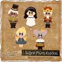 Sugar Plum Kiddos Element Pack
