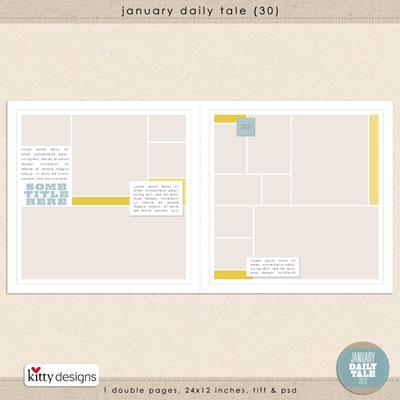 January Daily Tale 30
