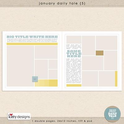 January Daily Tale 5
