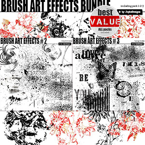 Brush Art Effects Bundle