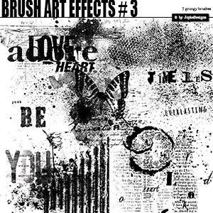 Brush Art Effects # 3