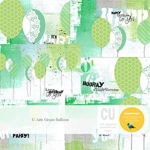 CU: C-Arts Green Balloon