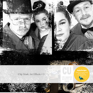 CU: Clip Mask Art Effects # 1