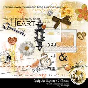 Crafty Art Snippets # 2 Elements