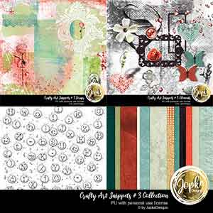 Crafty Art Snippets # 3 Collection
