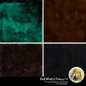 Dark Blends & Textures # 6