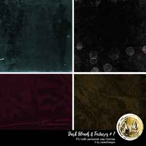 Dark Blends & Textures # 7
