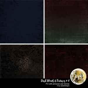 Dark Blends & Textures # 8