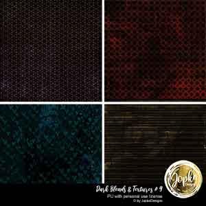 Dark Blends & Textures # 9
