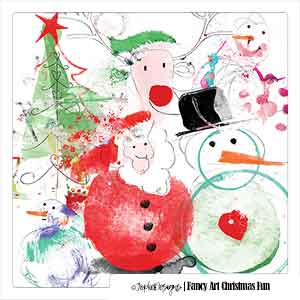 Fancy Art Christmas Fun