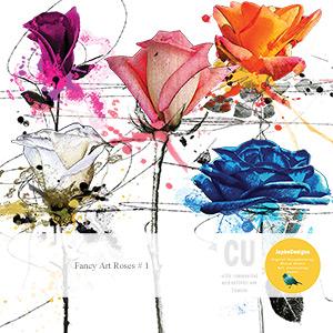 CU: Fancy Art Roses # 1
