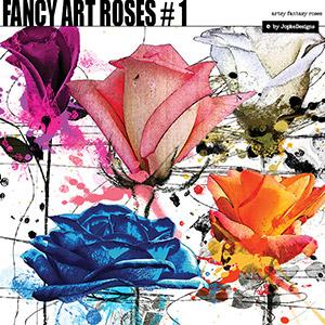 Fancy Art Roses # 1