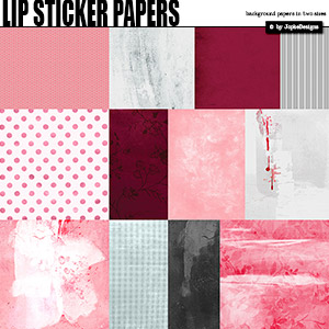 Lip Sticker Papers