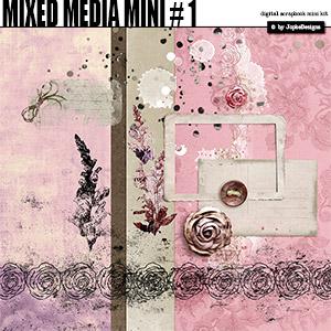 Mixed Media Mini # 1